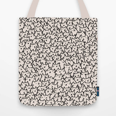 So many cats Tote Bag - Edmotic