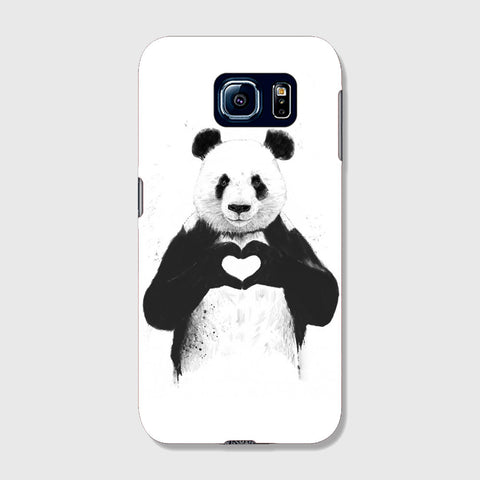 Panda Love  SAMSUNG GALAXY S6 CASE - Edmotic
