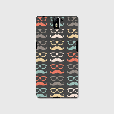Colorful Moustache  (One Plus One ) - Edmotic