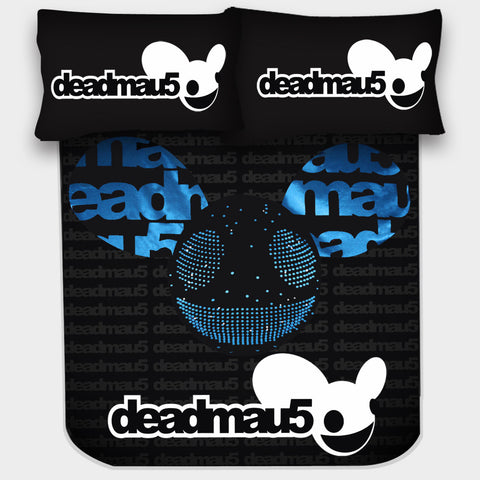 DEADMAU5 BEDSHEET - Edmotic - 1