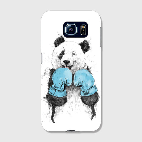 Boxer Panda  SAMSUNG GALAXY S6 EDGE CASE - Edmotic