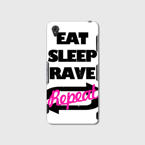 Eat Sleep Rave Repet  (SONY XPERIA Z3) - Edmotic