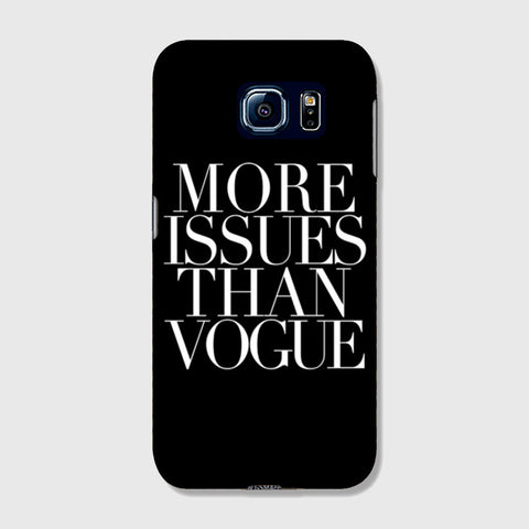 More Issues Than Vogue SAMSUNG GALAXY s7 CASE - Edmotic