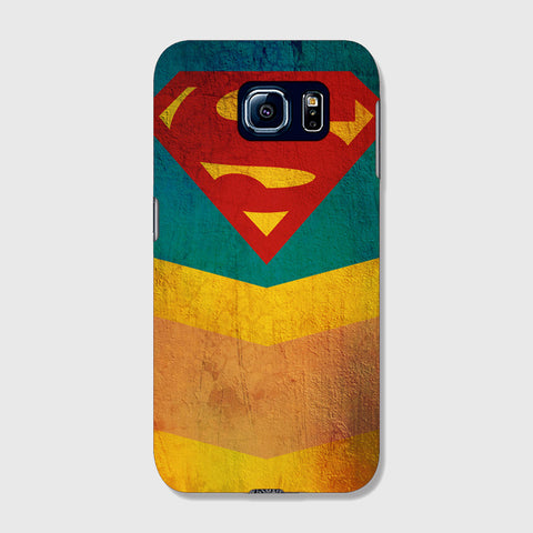 Retro Superman  SAMSUNG GALAXY S6 CASE - Edmotic