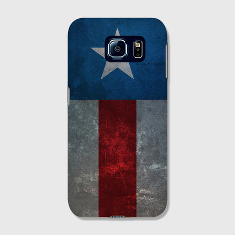 Retro Captain America  SAMSUNG GALAXY s7 CASE - Edmotic