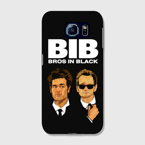 Bros in Black   SAMSUNG GALAXY S6 EDGE CASE - Edmotic