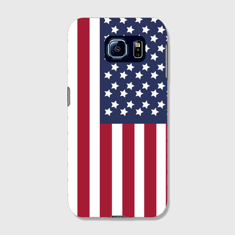 American SAMSUNG GALAXY S6 EDGE CASE - Edmotic