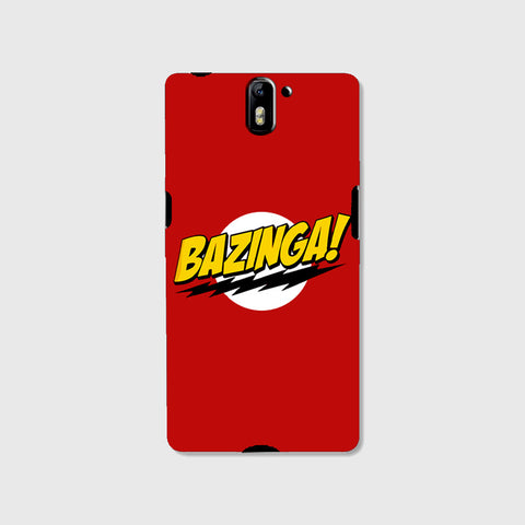 Bazinga   (One Plus One ) - Edmotic