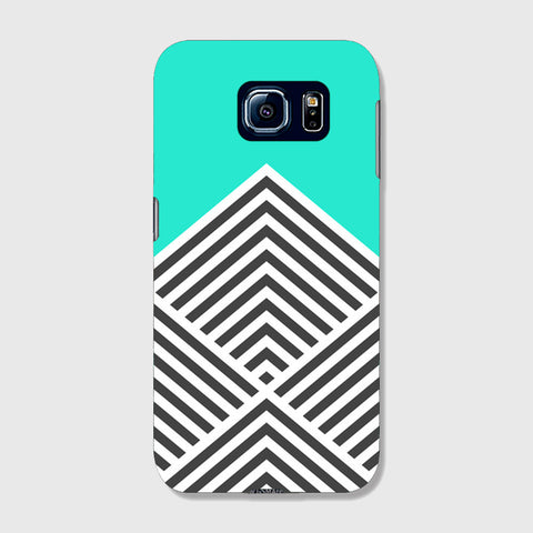 Minty Chevron   SAMSUNG GALAXY S6 CASE - Edmotic