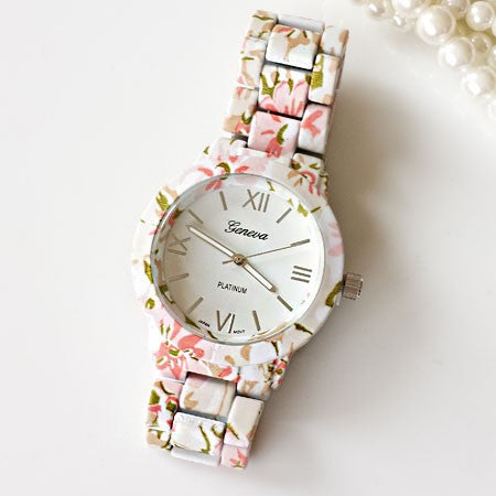 Paris Evening Floral Watch - Edmotic - 1