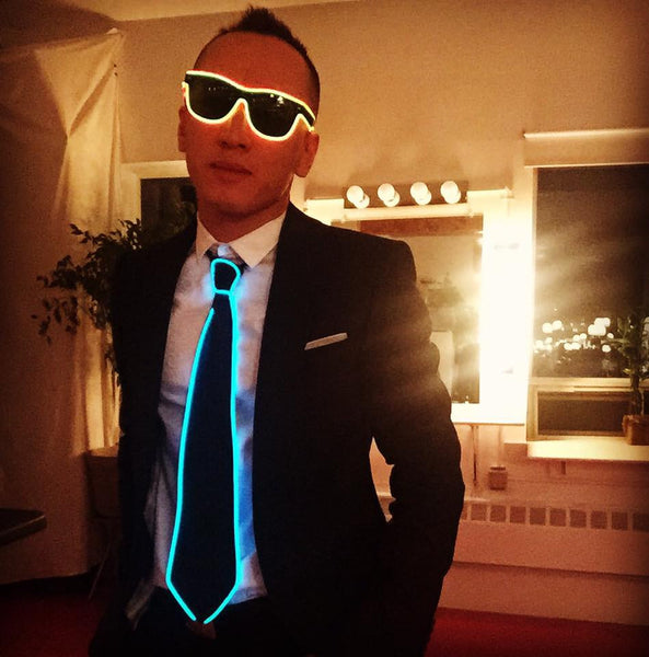 ELECTRIC LED TIE