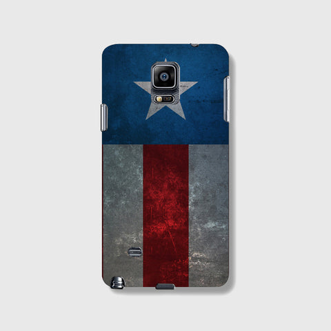 Retro Captain America  SAMSUNG GALAXY NOTE 4 CASE - Edmotic