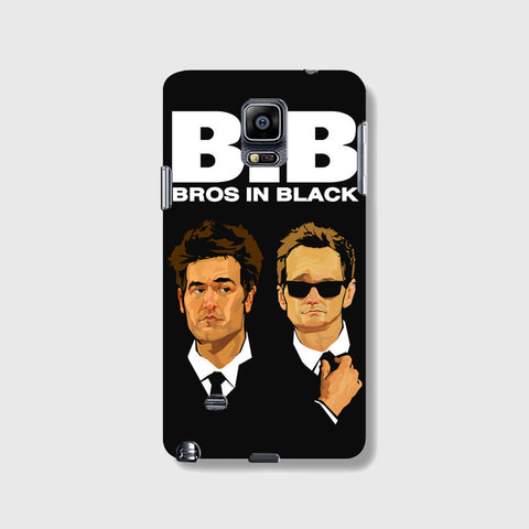 Bros in Black   SAMSUNG GALAXY NOTE 4 CASE - Edmotic