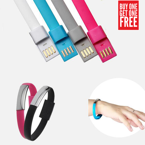 WRISTBAND CHARGING CABLE FOR ANDROID - Edmotic - 1