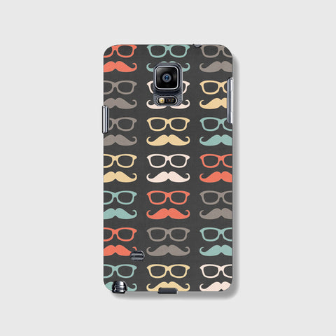 Colorful Moustache  SAMSUNG GALAXY NOTE 4 CASE - Edmotic