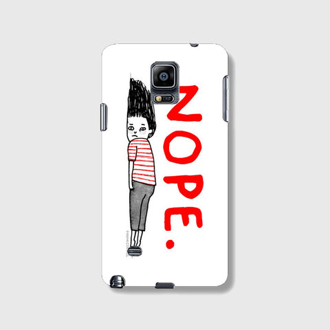 Nope Feeling  SAMSUNG GALAXY NOTE 4 CASE - Edmotic