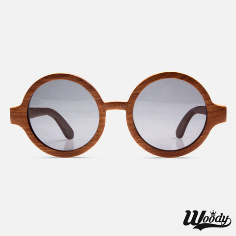 Dark Grain Bamboo Sunglasses - Edmotic - 1