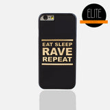 Eat Sleep Matte Finish Phone Case (I Phone 6/6S Plus )