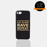 Eat Sleep Matte Finish Phone Case (I Phone 5)