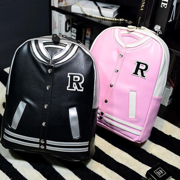 JACKET BACKPACK PINK