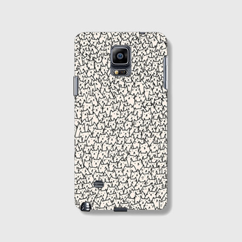 So Many Cats SAMSUNG GALAXY NOTE 4 CASE - Edmotic