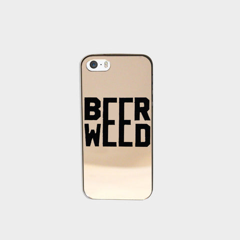 Beer Weed Phone Case (I Phone 5 ) - Edmotic