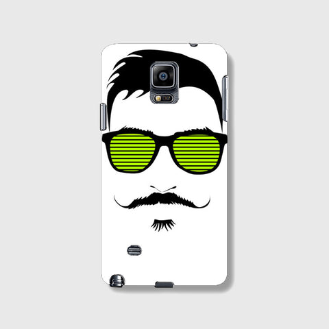 Mustache Life  SAMSUNG GALAXY NOTE 4 CASE - Edmotic
