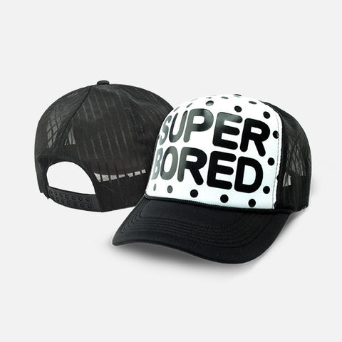 SUPER BORED BASEBALL CAP - Edmotic