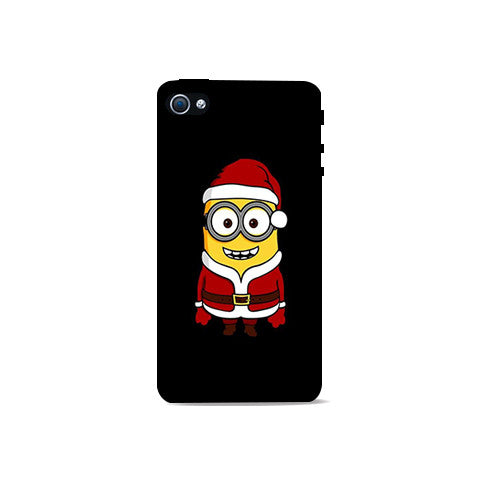 Santa Minion Iphone 4/4s Case - Edmotic
