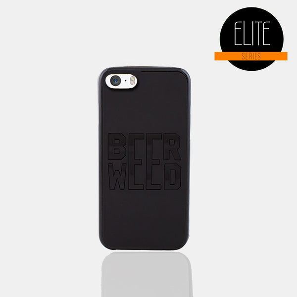 Beer Weed Matte Finish Phone case (I Phone 5)