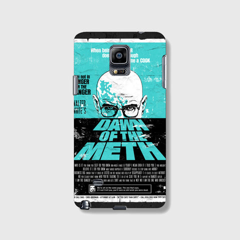 Dawn To The Meth   SAMSUNG GALAXY NOTE 4 CASE - Edmotic