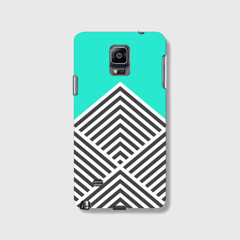 Minty Chevron   SAMSUNG GALAXY NOTE 4 CASE - Edmotic