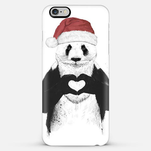 Santa Panda Iphone 6s Plus Case - Edmotic