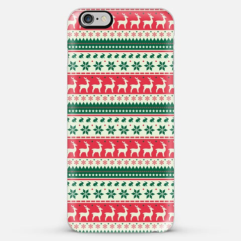 Christmas Aztec Iphone 6s Plus Case - Edmotic