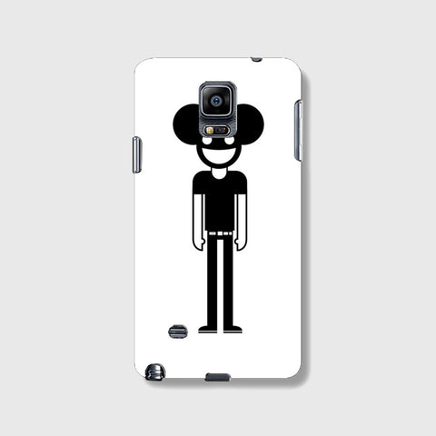 Tall Deadmau5  SAMSUNG GALAXY NOTE 4 CASE - Edmotic