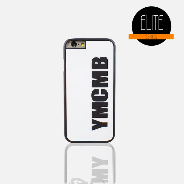 YMCMB Glossy White Phone Case (I Phone 6/6S)