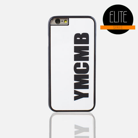 YMCMB Glossy White Phone Case (I Phone 6/6S Plus ) - Edmotic - 1