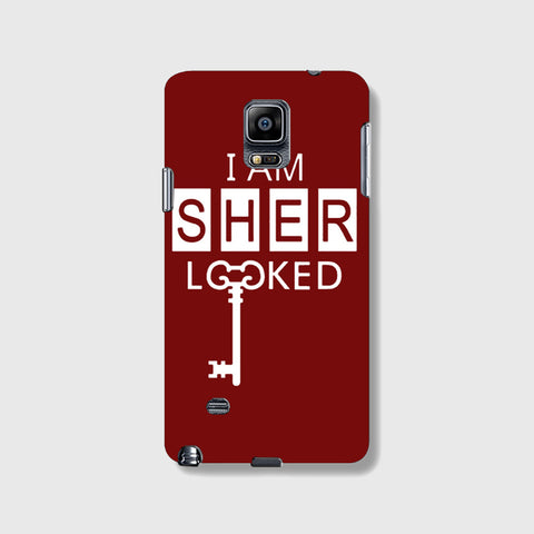 I Am Sherlocked  SAMSUNG GALAXY NOTE 4 CASE - Edmotic