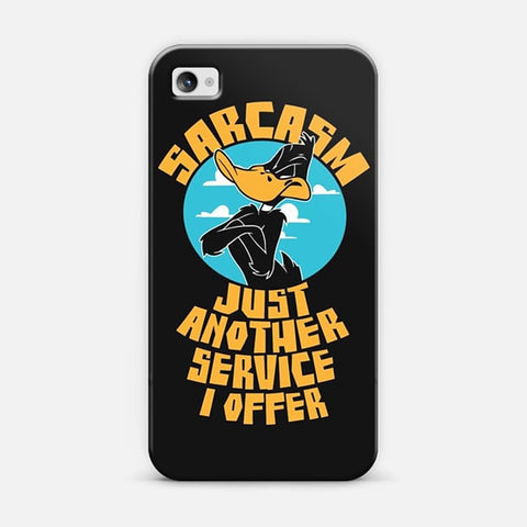 Looney Toons Work Saracasm iPhone 4/4s Case - Edmotic
