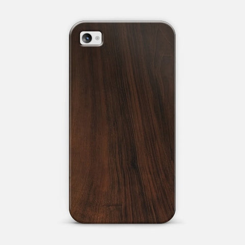 Dark Wood iPhone 4/4s Case - Edmotic