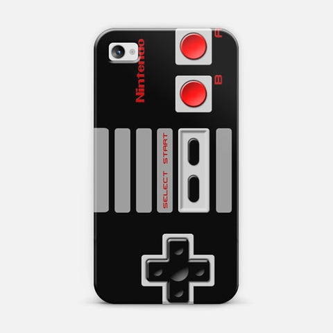 Nintendo Controller iPhone 4/4s Case - Edmotic