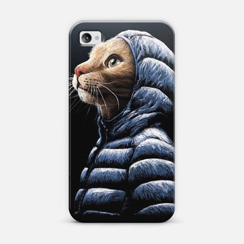 Cool Cat iPhone 4/4s Case - Edmotic