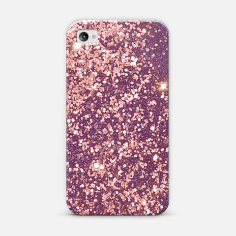 Blurry Copper Sparkle iPhone 4/4s Case - Edmotic