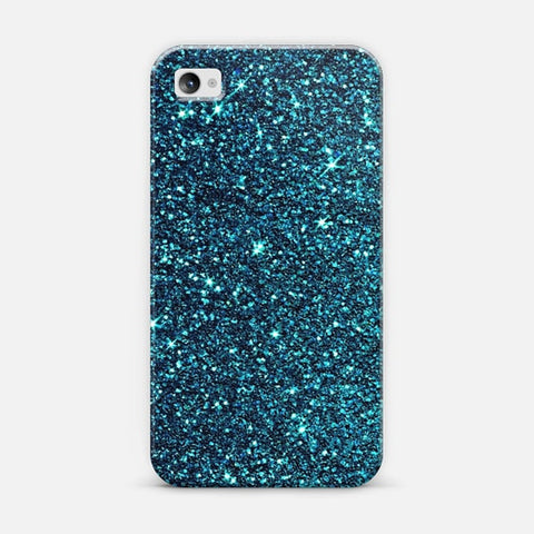 Blue Sparkle iPhone 4/4s Case - Edmotic