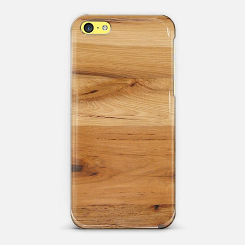 Wood iPhone 5c Case - Edmotic
