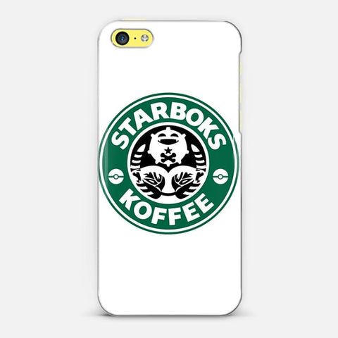 Starboks Koffee iPhone 5c Case - Edmotic