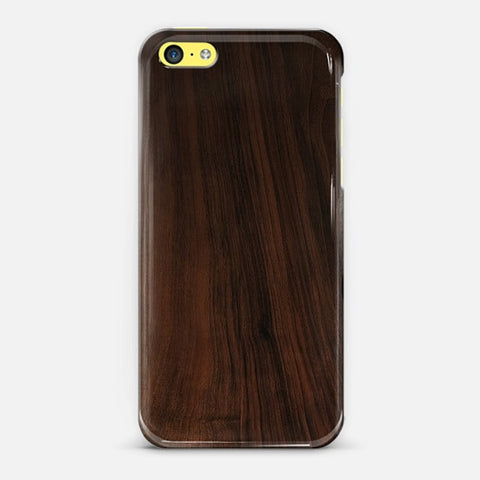 Dark Wood iPhone 5c Case - Edmotic