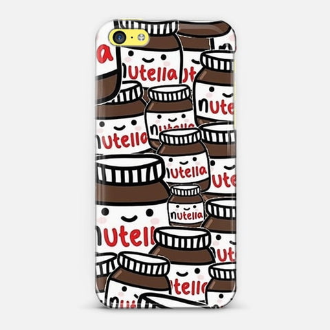 Nutella Love iPhone 5c Case - Edmotic