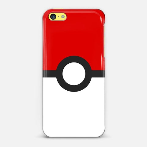Poke Ball iPhone 5c Case - Edmotic