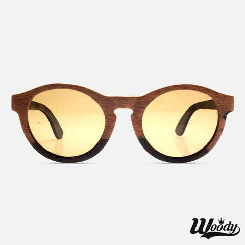 Sandal Grain Wood Sunglasses - Edmotic - 1